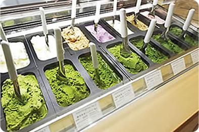 ジェラートNo.1〜No.7静岡県藤枝産抹茶使用
